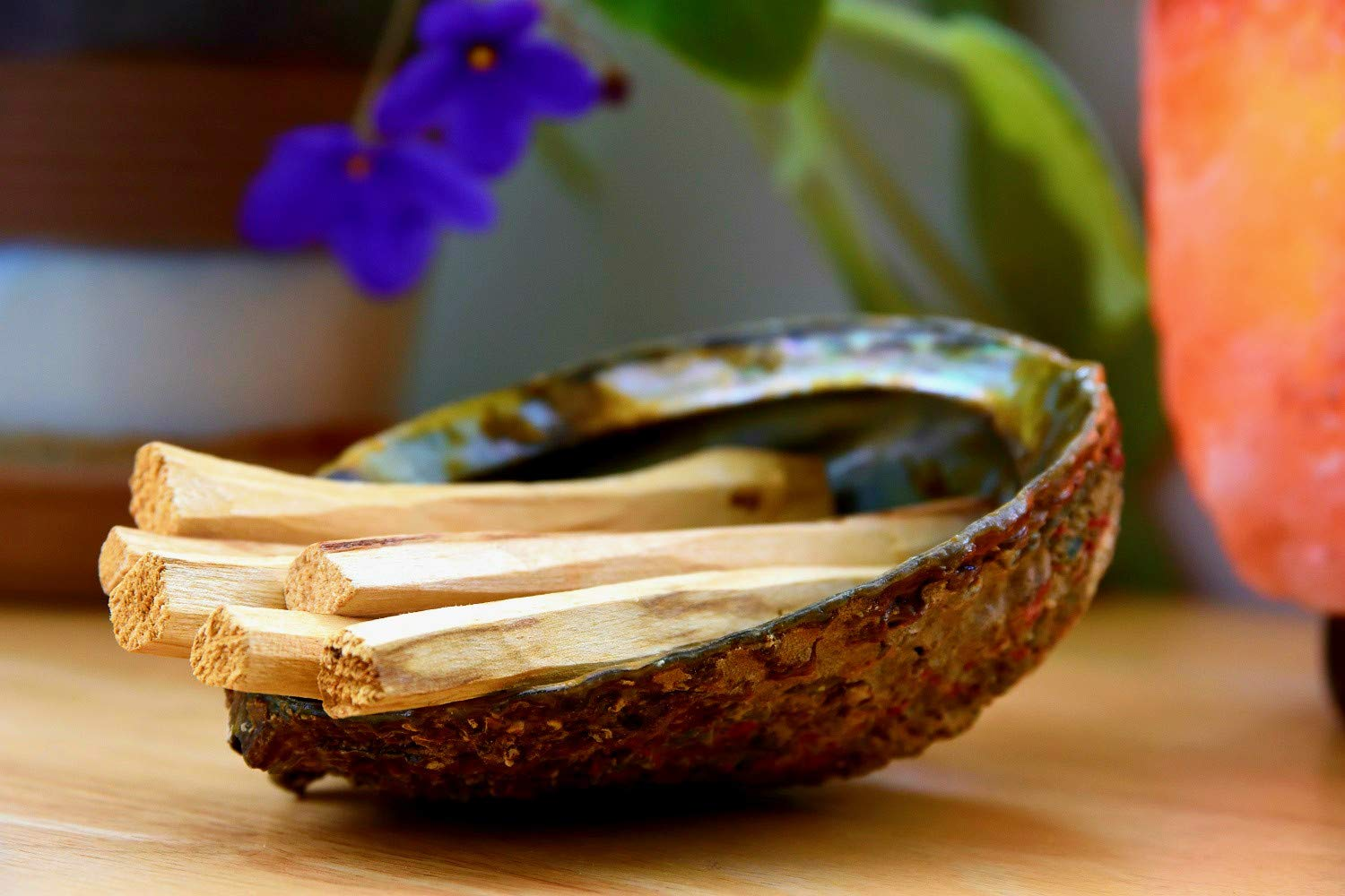 Santo Spirit Palo Santo Holy Wood Incense Smudge Sticks - 20 Pack Free Bonus 3 Palo Santo Incense Cones | 100% Natural | Hand Cut | High Resin | Sustainably Sourced | Clears Negative Energy by Santo Spirit (Image #3)