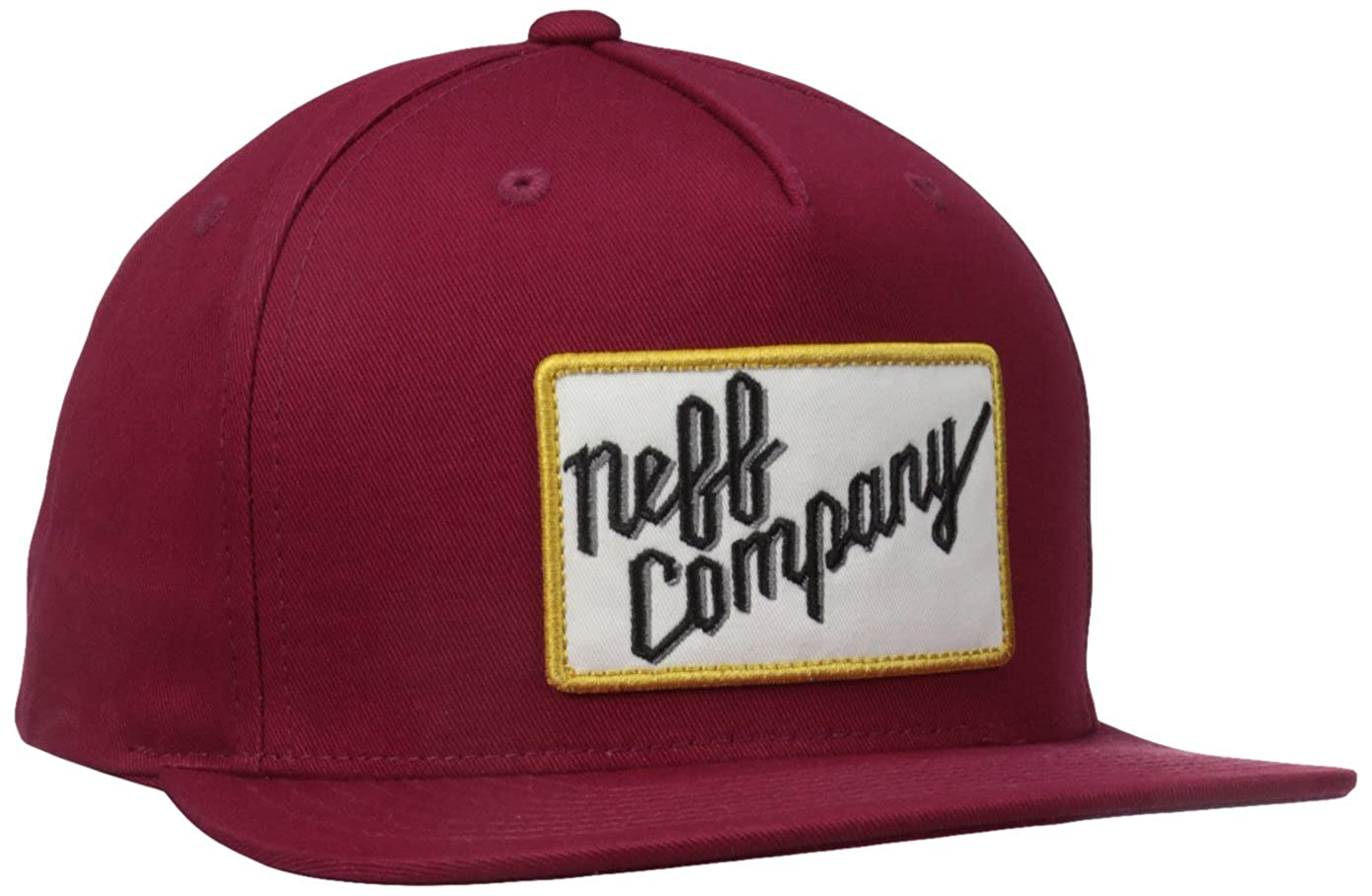 Neff Gorra Co. Rojo Oscuro Única: Amazon.es: Ropa y accesorios