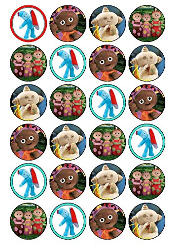 24 x Iggle Piggle, Night Garden Edible Cupcake Toppers (#2)