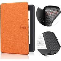 Jednokolorowy pokrowiec ze wzorem do Kindle Paperwhite 4 - Auto Sleep Wake E-Book Shell, ultra cienki pokrowiec ochronny…