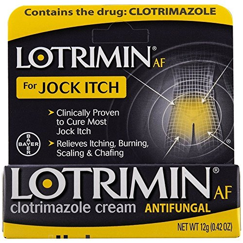 - Lotrimin AF Jock Itch Antifungal Cream 0.42 oz