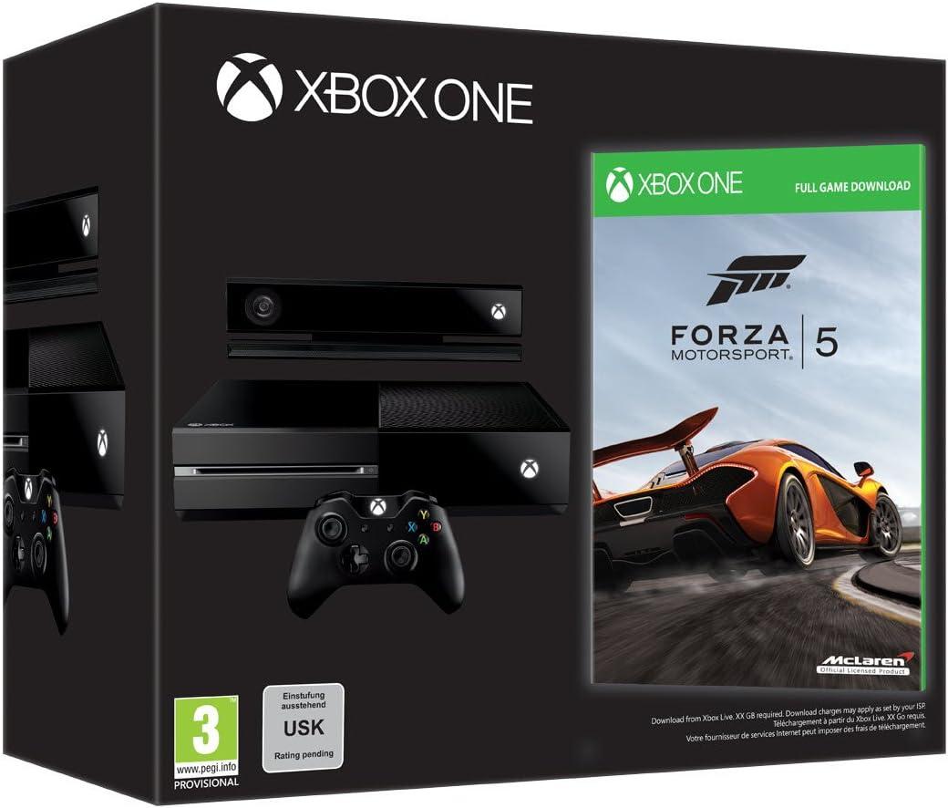 Pack Consola Xbox One - Edición Day One [Con código de descarga Forza 5] [Xbox One] [Producto Importado]: Amazon.es: Videojuegos