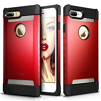the latest 15903 7a02d iPhone 7 Plus Case, ESR Hybrid Heavy Duty Shockproof: Amazon.in ...