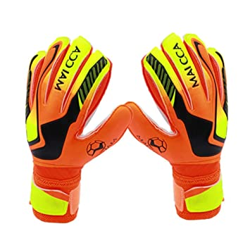 fb6b0b294 Goalkeeper Gloves Goalie Gloves Comfortable Soccer Gloves - Anti Slip  Durable Secure Football Goalkeeper Training Gloves Fingertips Thickened  Latex Wear ...