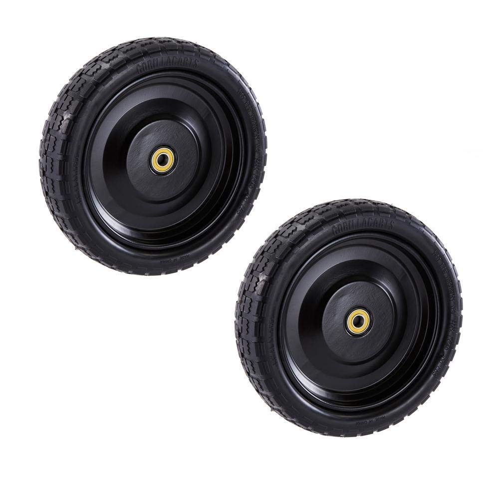"""Gorilla Carts GCT-13NF Replacement Tire 13/"""" 2 X Pack of 2"""