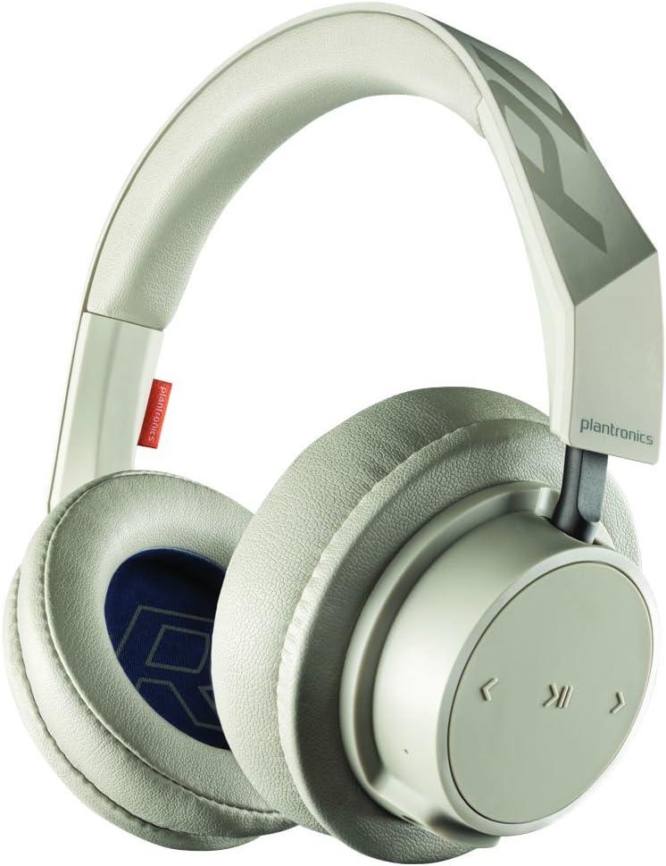 Amazon Com Plantronics Backbeat Go 600 Noise Isolating Headphones Over The Ear Bluetooth Headphones Khaki