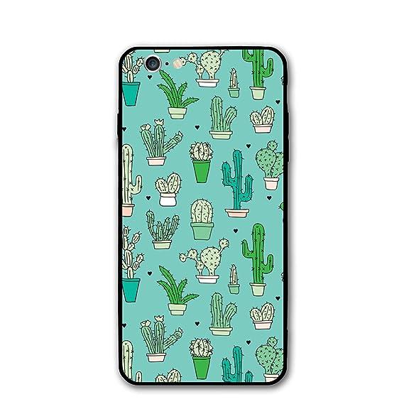 Amazon Com Iphone 6 Iphone 6s Cover Cactus Wallpaper New