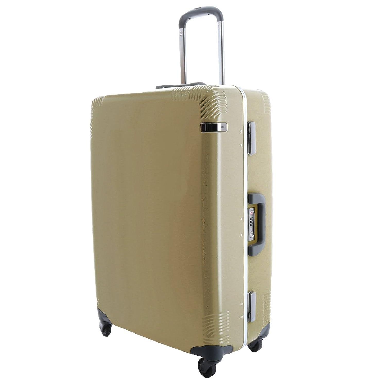 (エースドット) ace. スーツケース キャリー ハード 70L 中型 1週間程度 B0732RTHCM2.ゴールド