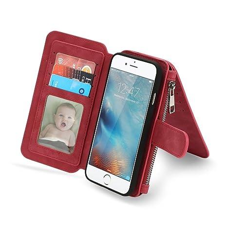 custodia iphone 7 con zip