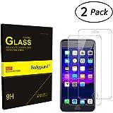 Bodyguard 2 Stück Panzerglas Schutzfolie für iPhone 7 PLUS iPhone 8 PLUS, 9H Härte Displayschutz 99% Ultra-klar für iPhone 7 PLUS 5,5'', Oleophobe Beschichtung