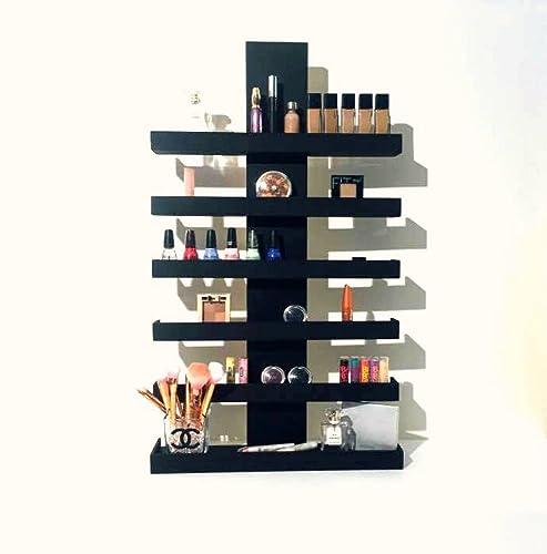 Beau Wall Mounted Makeup Organizer, Makeup Organizer, Makeup Storage, Makeup  Shelf, Cosmetic Display