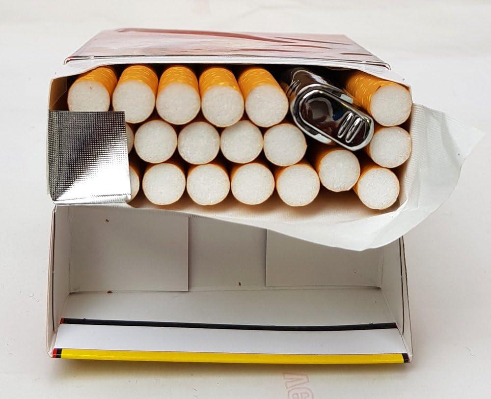 GravUp Gravur des Vornames auf der Vorderseite inklusive VORSCHAU schmales Gasfeuerzeug mit SOFORTGRAVUR