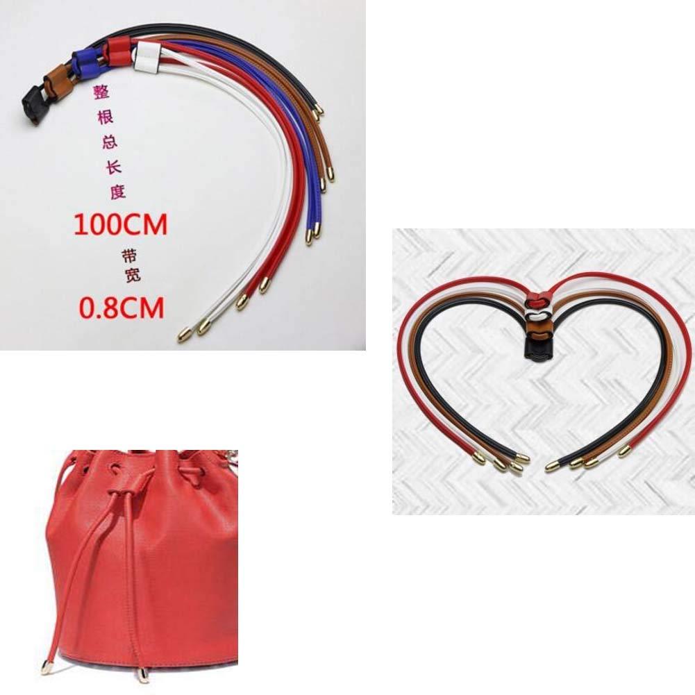 DRAGON SONIC Bucket Bag Drawstring,Bag Accessories,Beam Rope,Black
