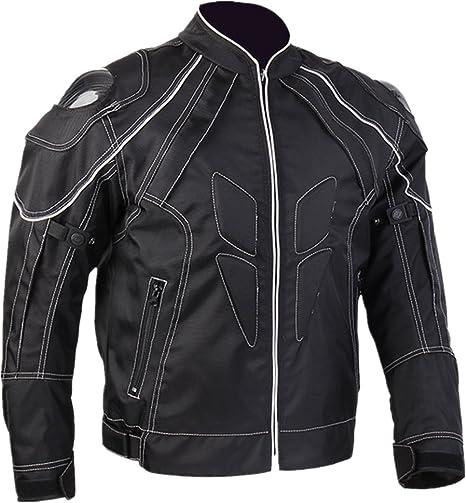 ILM摩托车夹克碳纤维装甲