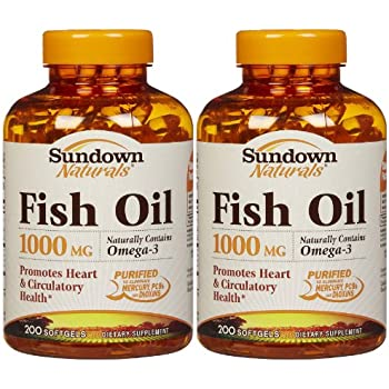 Sundown Naturals Fish Oil  Mg Health Information