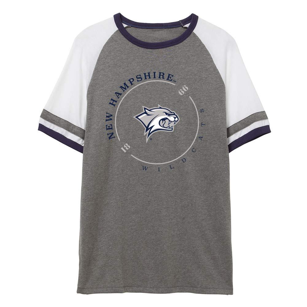 NCAA New Hampshire Wildcats RYLNHM11 Unisex Slapshot Vintage Jersey T-Shirt