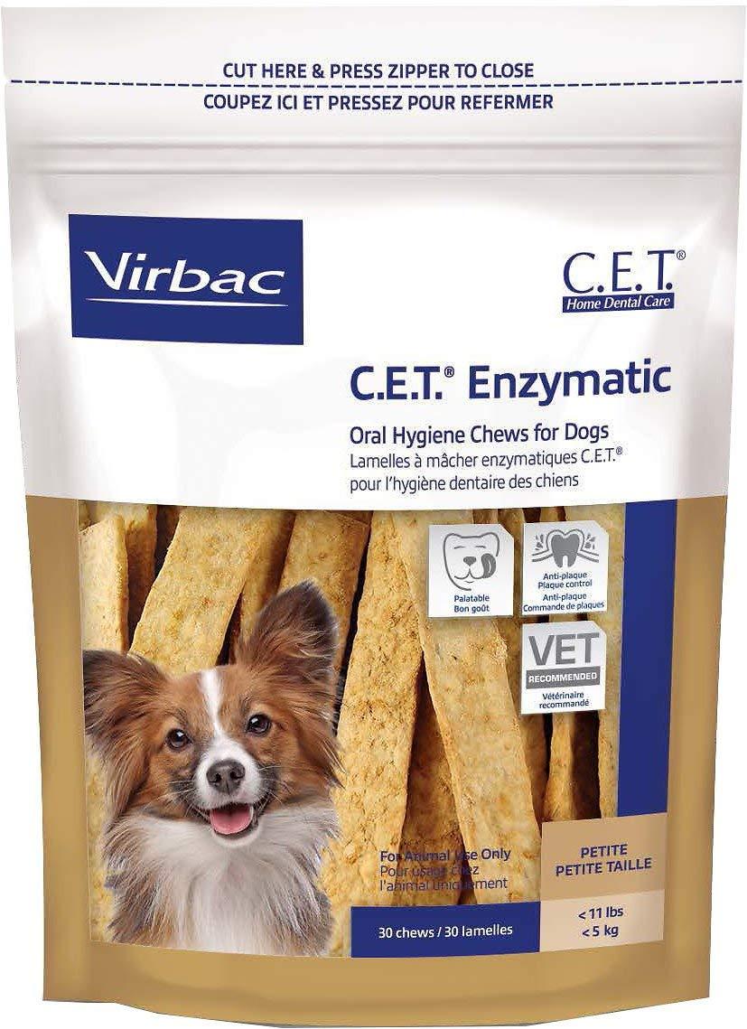 Virbac C.E.T. Oral Hygiene Rawhide Dog Chews