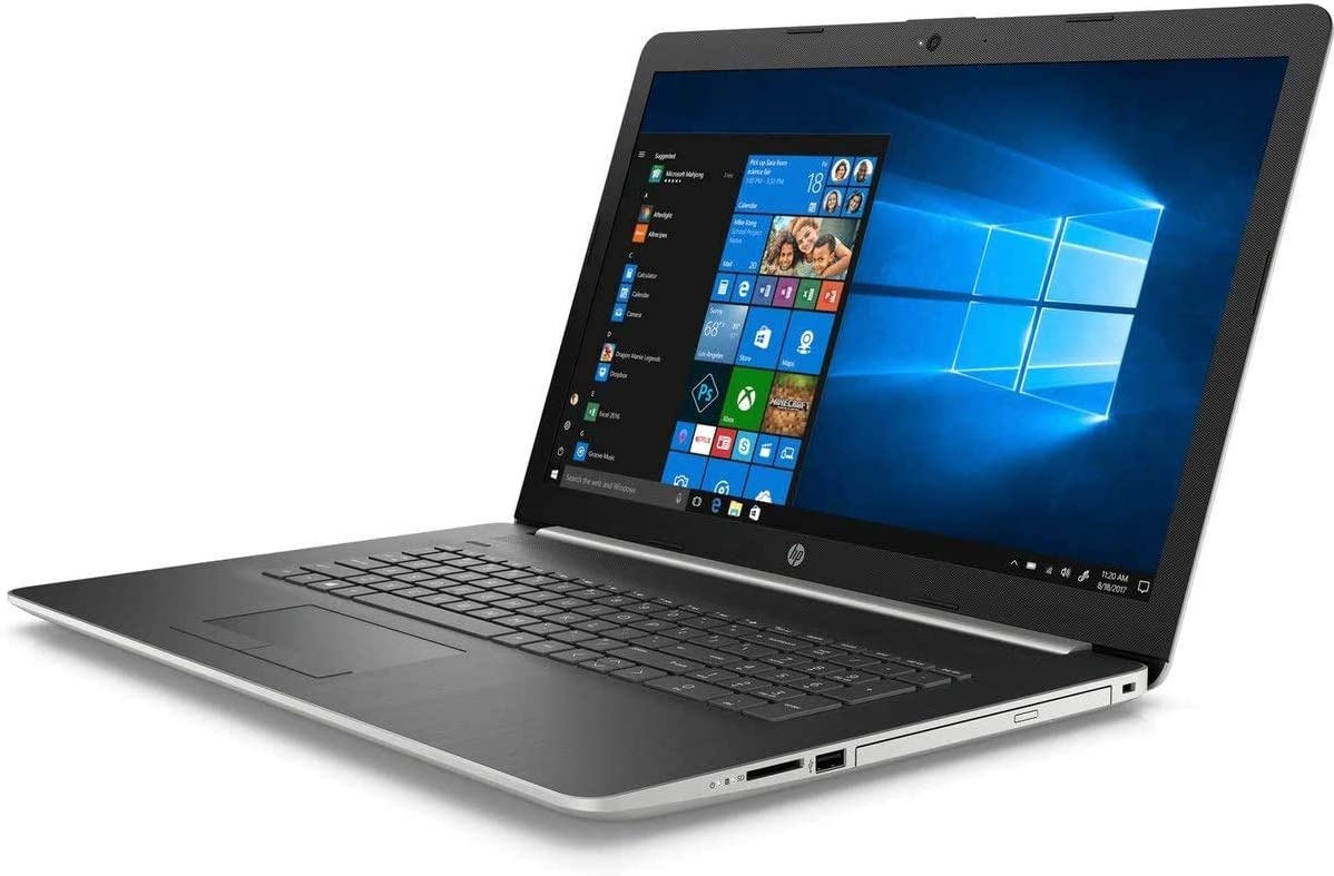 HP 17.3 Inch Non-Touch Intel 10th Gen i5-1035G1 Laptop For Writers