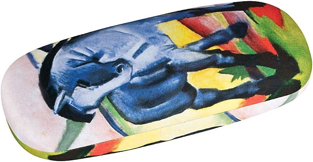 Blue Feather Magical Style Print Brillenetui Sonnenbrillenetui f/ür Kinder Licht Tragbares Neopren-Rei/ßverschluss Softcase Brillenetui f/ür Kinder