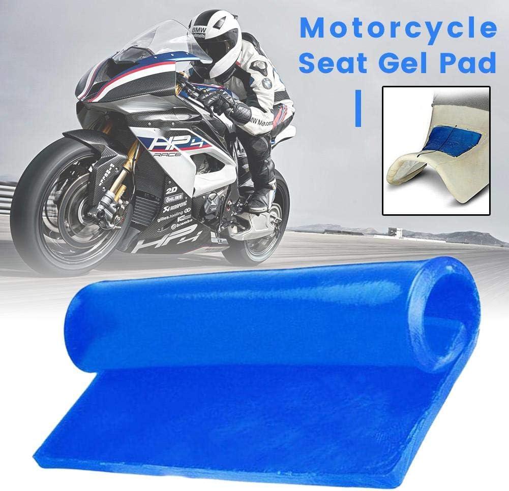 Coussin Doux et Confortable Selle de Bricolage DIY Tapis dabsorption des Chocs Soft Cushion Blue Lucky-all star Coussin en Gel pour si/ège de Moto