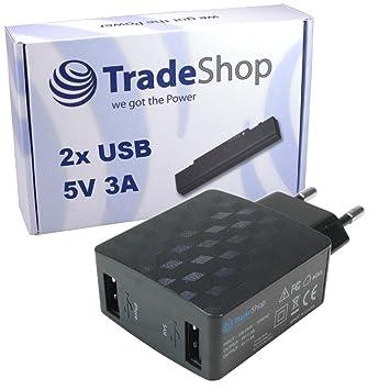 2 compartimento Dual USB 5 V/3 A Fuente Viaje Adaptador ...