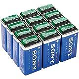 SONY SOBS9V12BULK, Stamina Plus Alkaline Bulk Batteries (9V/12-Pack)