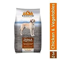 Wilderness Chicken and Vegetables Adult Dog Food, 3 kg