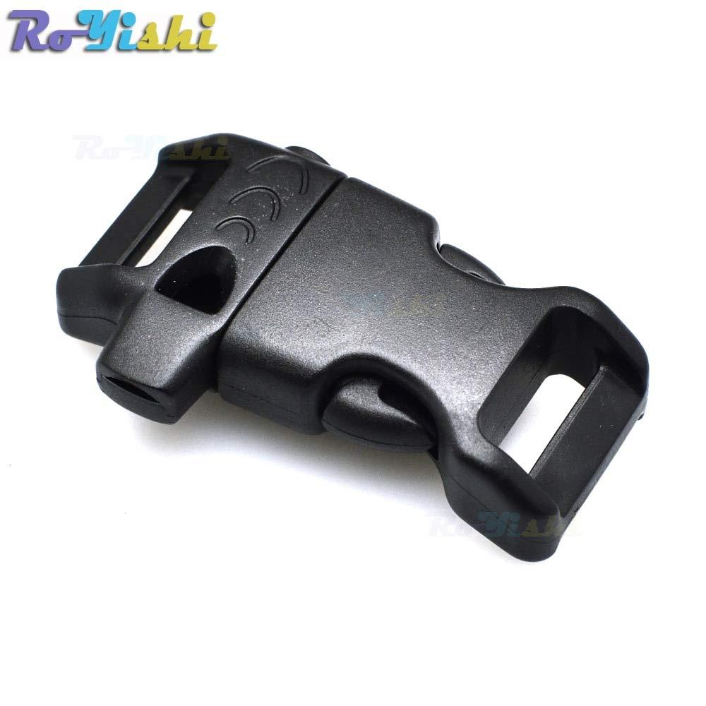 Whistle Buckles Emergency Side Release (14Mm) For Paracord Bracelet/Backpack/Survival Kits