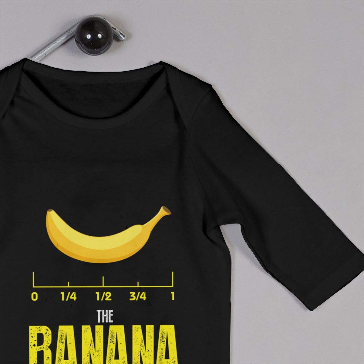 Gsaa The Banana Unit of Measure Baby Long Sleeve Bodysuit Cotton Romper