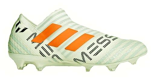 newest collection 08a97 cc4f0 adidas Nemeziz 17+ 360 Agility FG Cleat - Men s Soccer 8 White Solar Orange