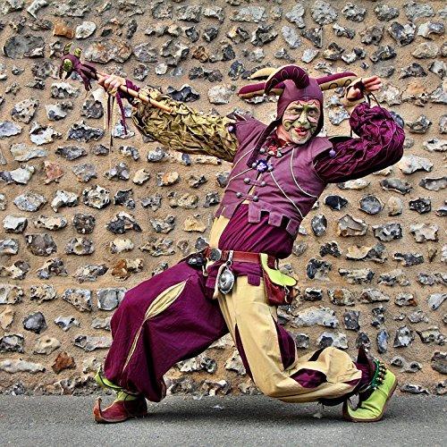 Home Comforts LAMINATED POSTER Violet Troubadour Costume Minstrel Middle Ages Poster 24x16 Adhesive (Costume De Troubadour)