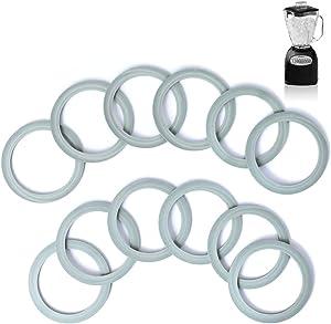 AIEVE Blender Gasket for Oster, 12 Pack Blender Sealing Ring Gaskets Blender Rubber Ring O-ring Gasket Seal O-Gasket Rubber Gasket for Osterizer and Oster Blender Replacement Parts