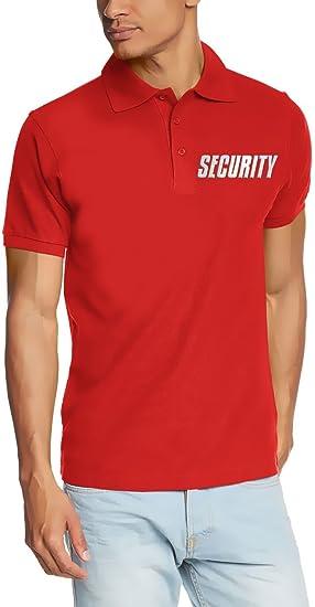 Coole-Fun-T-Shirts Security - Polo reflectante (tallas: S, M, L ...