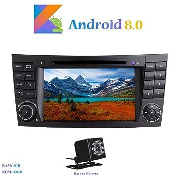 Android 8.0 Autoradio, Hi-azul 2 DIN 8-Core RAM 4G ROM 32G