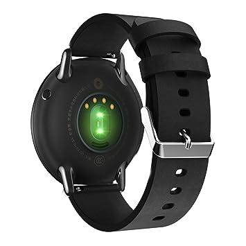 Correa de repuesto para reloj inteligente de 22mm, fabricada con piel auté