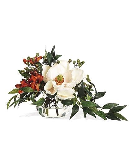 Amazon southern charm silk flower arrangement home kitchen southern charm silk flower arrangement mightylinksfo