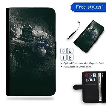 Smartphone estuche Nueva carpeta de cuero caja cubierta protectora de la Caso del monedero Apple iPhone