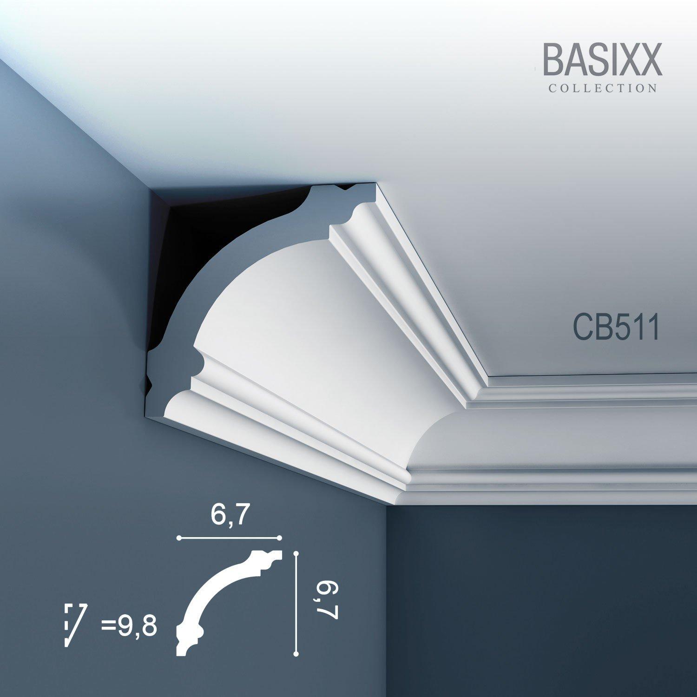 Orac Decor Cb511 Basixx Ceiling Coving Decoration Cornice Moulding