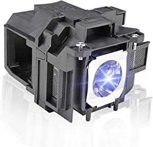 Replacement Projector Lamp Bulb for EPSON PowerLite ELPLP88/V13H010L88 Home Cinema 2040 1040 2045 740HD 640 EX3240 EX7240 EX9200 EX5250 EX5240 VS240 VS345 VS340 97H 98H 99WH 955WH X27 Projector