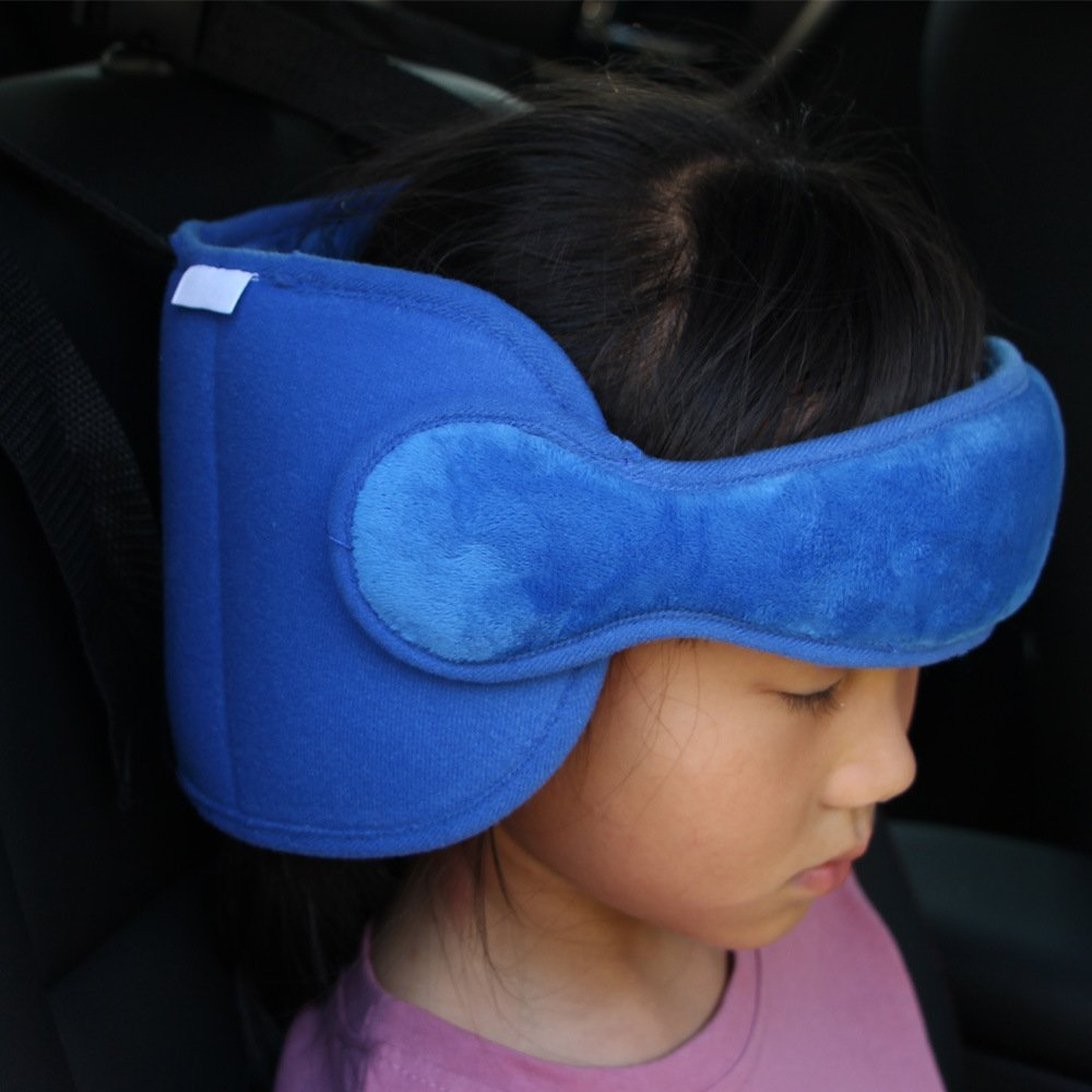 ITRAZ Kids Child Car Seat Head Support Neck Relief Safety Adjustable Holder Sleep Pillow