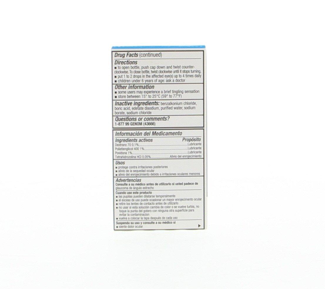 Amazon.com: Optical 20/20 Lubricant - Lubricante Para Ojos 0.6 Oz Azul (Pack of 24): Health & Personal Care