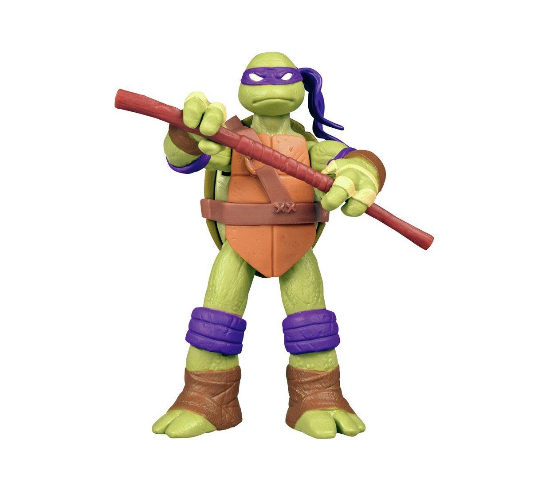 TMNT 4 Character Pack - Leonardo, Donatello, Michelangelo y Rafael Teenage Mutant Ninja Turtles