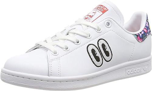 adidas Stan Smith W, Chaussures de Gymnastique Femme, Blanc