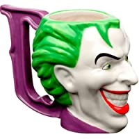 Caneca Porcelana Decô Mould Wb Jl Core Joker, 15.9 X 9.2 X 11 cm, 235 ml, Dirocas, Urban, 41441, Multicor