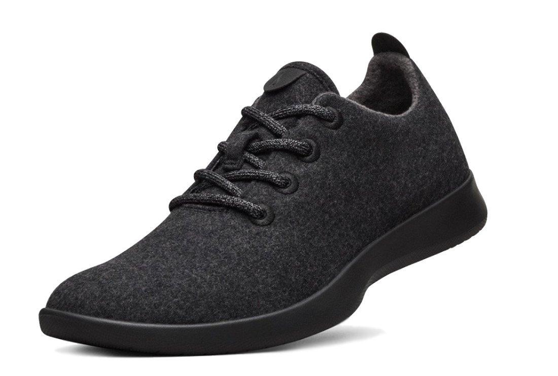 (オールバーズ)allbirds Men`s Wool Runners Sneakers メンズウールランナースニーカー(並行輸入品) B075GGC241 US08 Natural Black
