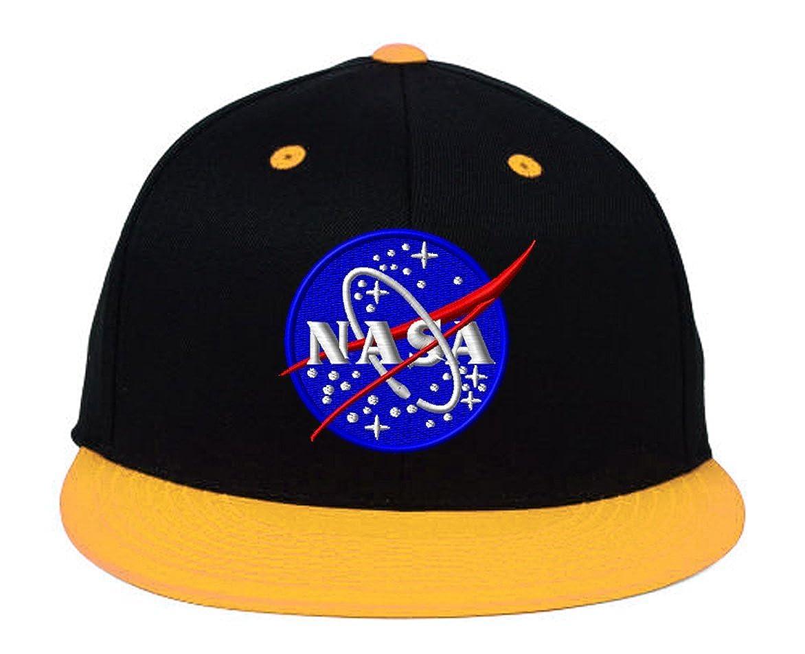 Amazon.com  NASA Snapback-Black  Clothing 0e410c3e9ce