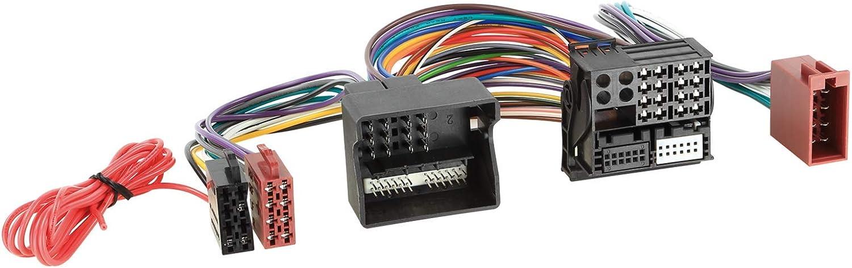 Adapterkabel Iso Einspeisung Parrot Fse Adapter Für Audi Seat Skoda Vw Voll Belegt Quadlock Navigation