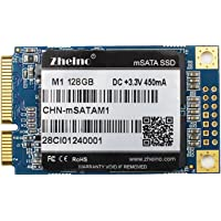 Zheino mSATA SSD 128GB M1 Internal mSATA III Hard Drive Solid State Drive for Mini Pc Notebooks Tablets Pc Laptop and Ultrabooks