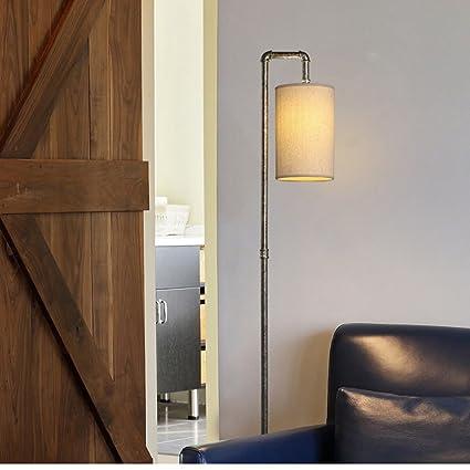 Lámpara de pie Vientos Industriales Loft Retro Hierro ...