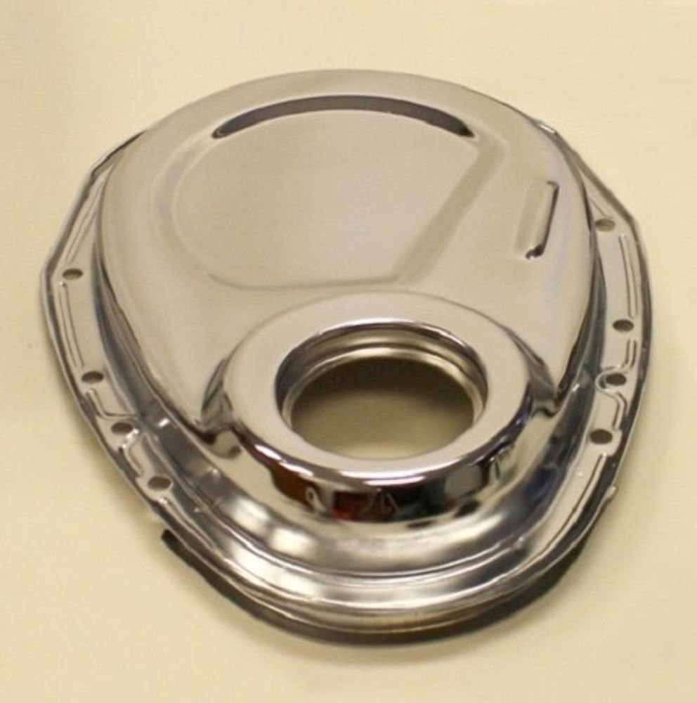 Small Block Chevy Chrome 327 350 400 Timing Chain Cover Tab Location Sbc Gm Everything Else